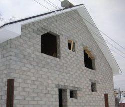 Качественный и недорогой дом из пеноблоков, кирпича, бруса в городе Рязань, можно заказать в нашей компании профессиональных строителей СтройСервисНК